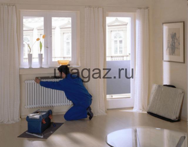 Монтаж системы отопления загородного дома