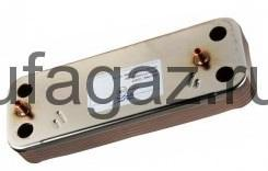 Теплообменник вторичный (ГВС) Baxi на 10 пластин
