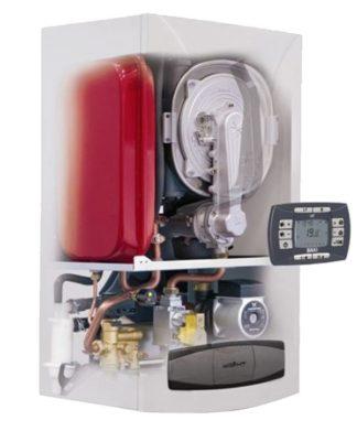 Котел газовый Baxi (Бакси)NUVOLA 3 Comfort 240i (бойлер)АТМО
